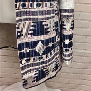 Anthropologie Jackets & Coats - Anthropology Elevenses Aztec Print Jacket, S